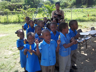 A Wonderful Morning at a Jamaican School