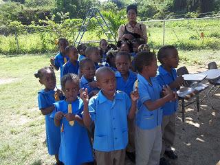 A Wonderful Morning at a Jamaican School